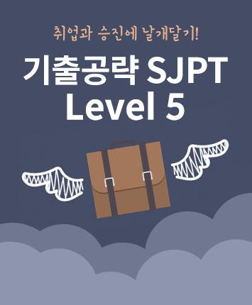 강경자 [중급] 기출공략 SJPT Level 5