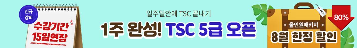 1주완성 TSC 5급