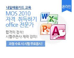 MOS 2010 자격 취득하기 (office 전문가)
