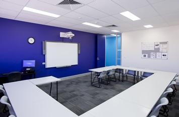 카플란 브리즈번 교실 전경